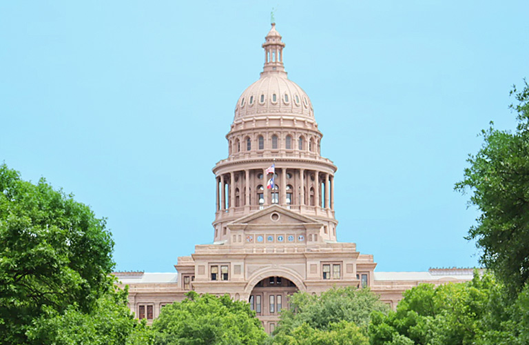 picture of texas capitol building